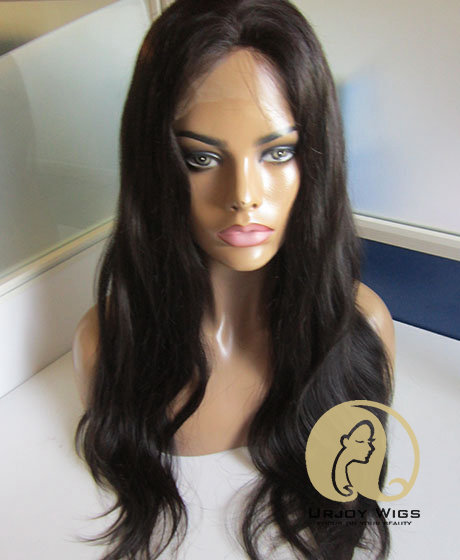 Loose Wave 100% Human Hair Silk top lace front wigs