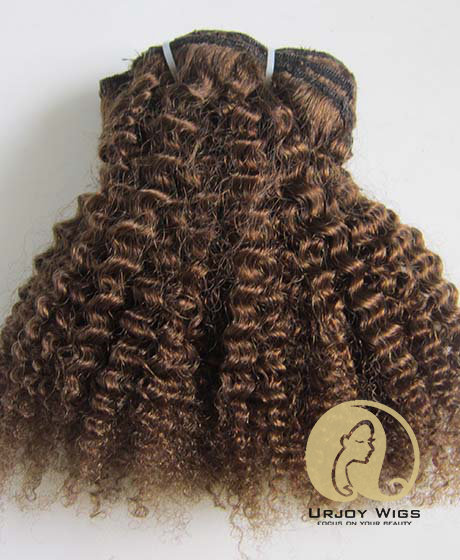 Afro kinky curl clip in hair extensions