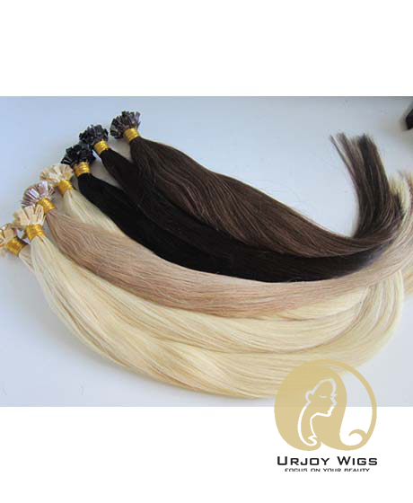 Pre bonded Flat Tip Hair Extensions Remy Human Hair