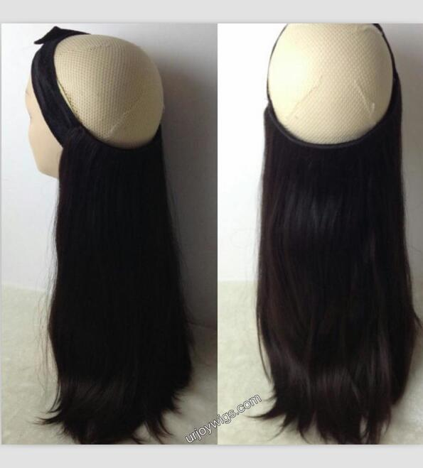 Fine Mongolian hair bandit wigs new popular styled wig