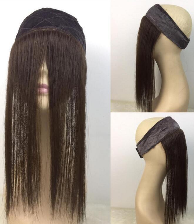 Lace Band iband Natural Hairline Bleached Knots