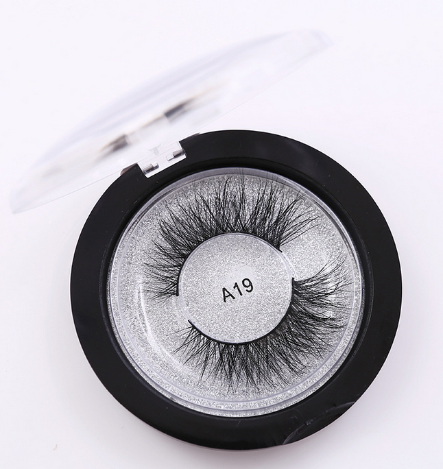 Luxury 3D 100% mink eyelashes wholesale