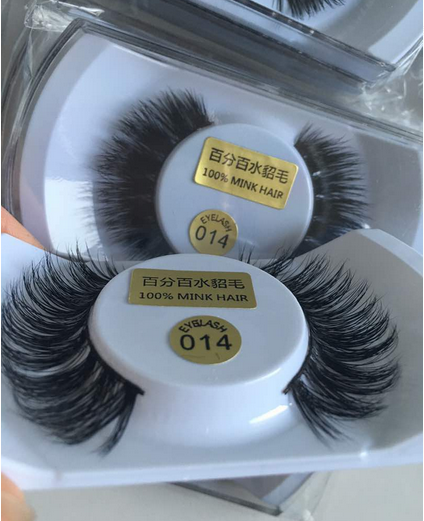 Regular 100 Mink hair lashes wholesale
