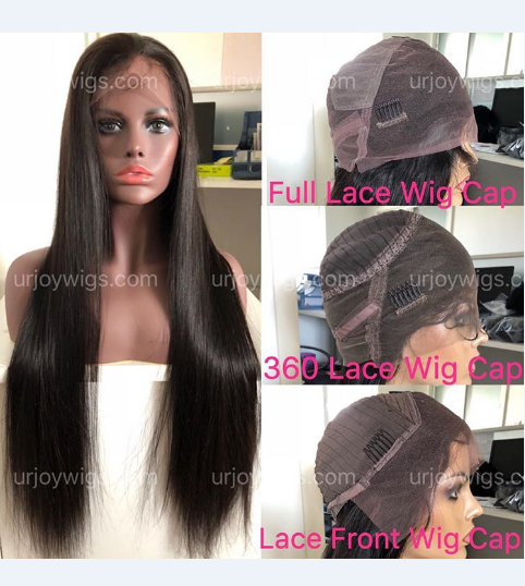 Three Kinds of Wig Cap 100% human hair lace wigs